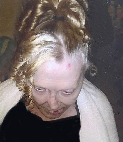 عکس تکاندهنده بازیگر زن زیبا یک روز قبل از مرگش