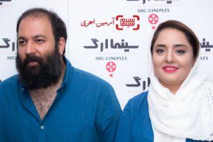 خرابکاری نرگس محمدی روی سر همسرش (عکس)