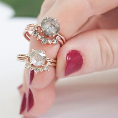 زیباترین مدلهای جدید انگشتر زنانه