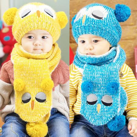 شیک ترین مدلهای جدید شال و کلاه بچگانه