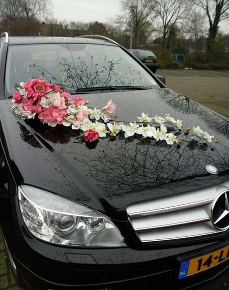 تصاویر زیباترین مدلهای تزیین ماشین عروس