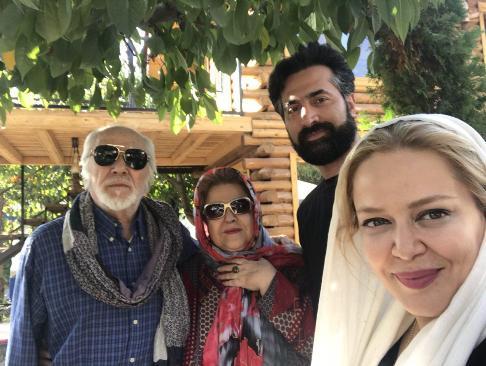 تفریح خانوادگی بهاره رهنما و شوهرش در لواسان (عکس)