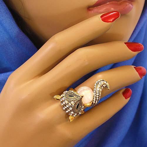 شیک ترین مدلهای جدید انگشتر زنانه مد سال