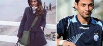 عکس های عروسی فوتبالیست معروف ایرانی و همسرش