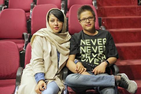 حرفهای عاشقانه همسر شهاب حسینی به پسرش (عکس)