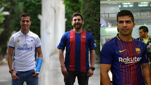 بعد از بدل لیونل مسی بدل سوارز در تهران دیده شد (عکس)