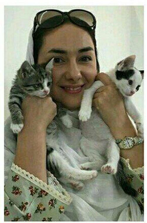واکنش جنجالی هانیه توسلی به مرگ گربه اش نغمه (تصاویر)