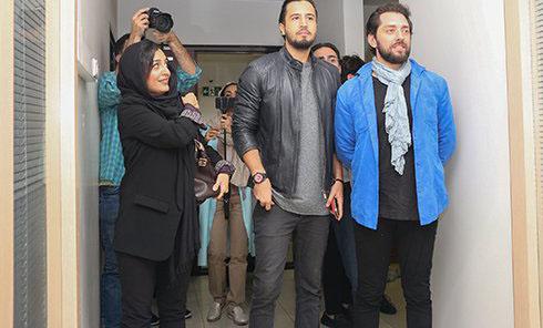 حضور ساره بیات و بهرام رادان در اکران فیلم زرد