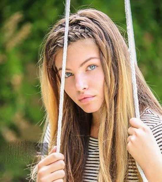 زیباترین دختر مدلینگ چشم آبی (عکس)