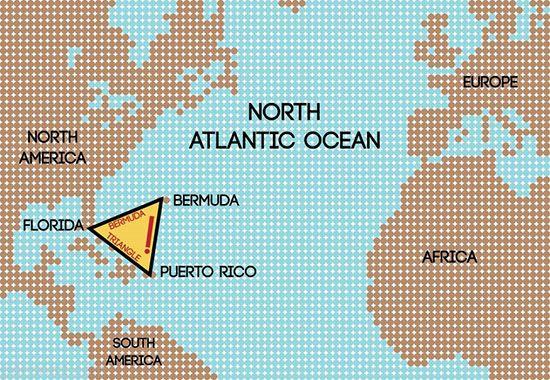 حقایق بسیار عجیب در مورد مثلث برمودا (عکس)