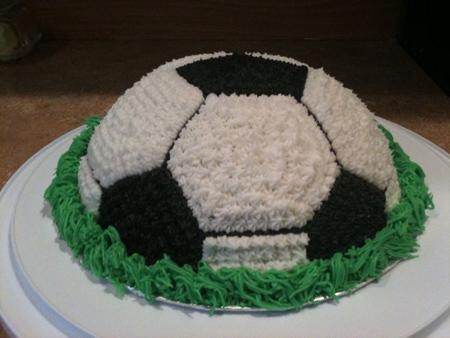 تصاویر زیباترین مدلهای کیک تولد فوتبالی