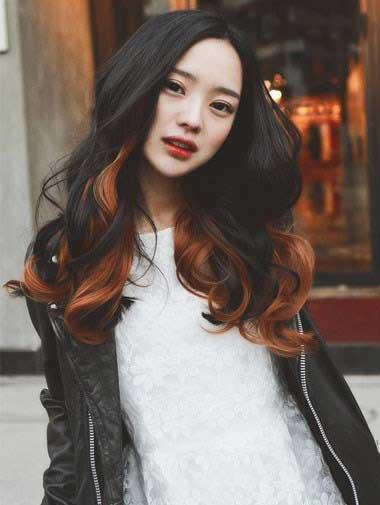 زیباترین مدلهای هایلایت موی مشکی