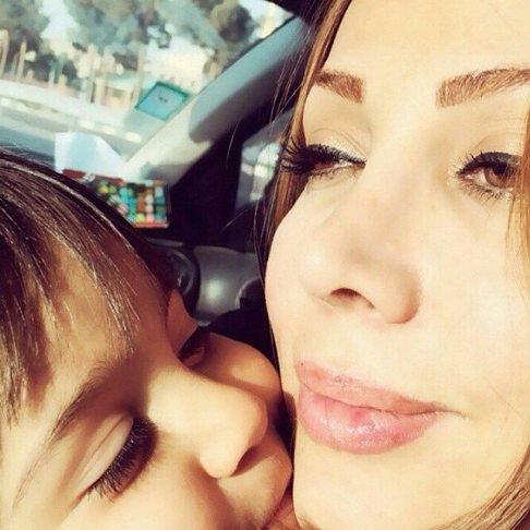 عکس های جدید همسر محسن چاوشی و پسرش
