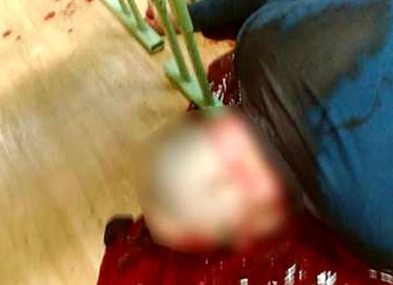 قتل وحشتناک معلم سر کلاس بخاطر نهنگ آبی (عکس)