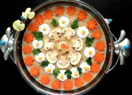 لاغری با سوپ جو مدلهای تزئین سوپ جو با شیر
