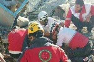 زیباترین عکس از زلزله کرمانشاه