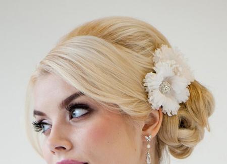 جدیدترین مدل های گل سر و تاج عروس