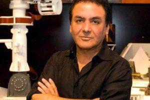 فیروز نادری در ناسا بدنبال کمک به زلزله زدگان کرمانشاه