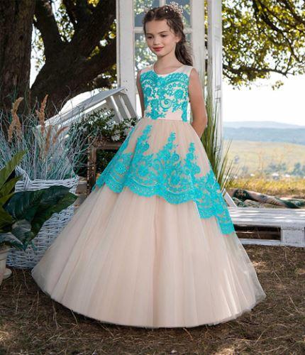 جدیدترین مدل لباس مجلسی دخترانه پرنسسی