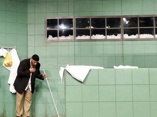 مرده شور شدن الناز شاکردوست در غسالخانه + تصاویر