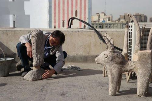 متفاوت ترین سرایدار ایران + عکس