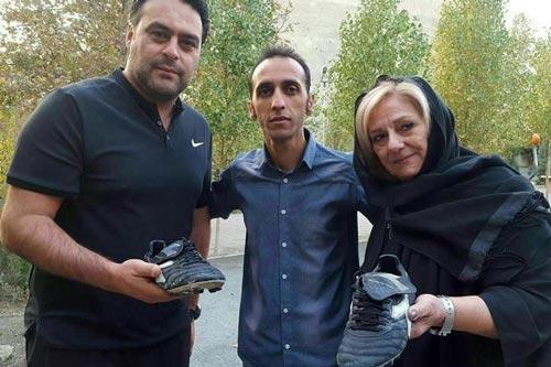 مدل کفش 50 میلیونی و فروخته شده ناصر حجازی + عکس