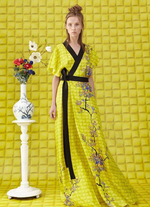 شیک و جدیدترین مدل لباس مجلسی زنانه برند Vionnet