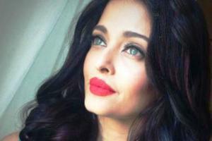 تیپ زیبای آیشواریا رای در تولد دخترش