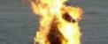 آتش زدن دختر زیبا بخاطر پاسخش به خواستگار (عکس)