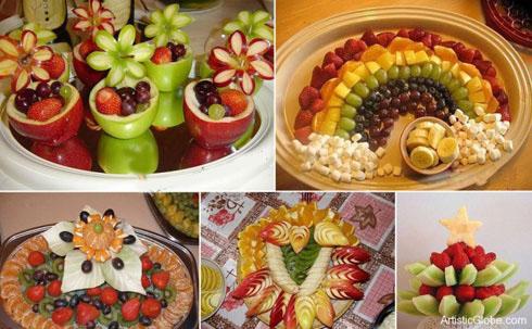 ایده های خارق العاده میوه آرایی شب یلدا