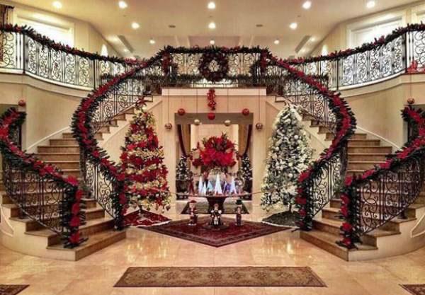 عکس هایی از لاکچری ترین کریسمس 2018