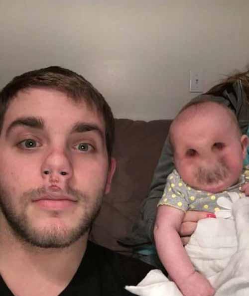 عکس های خنده دار از جابجایی چهره ی بچه ها