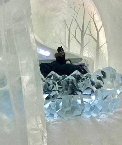 سفر هیجان انگیز الناز شاکردوست به قطب شمال (عکس)