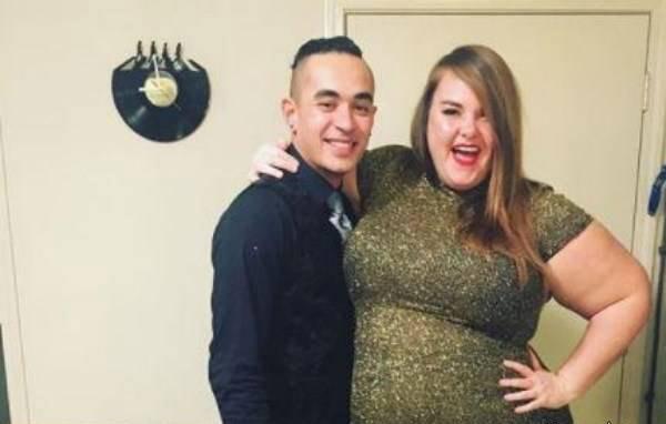 عکس جالب این زن چاق و همسرش سوژه شد