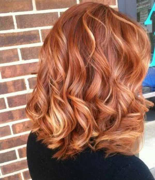 مدل رنگ موی بسیار شیک مخصوص عید 97