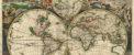 بزرگترین و قدیمی ترین نقشه جهان (عکس)