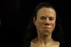 دختری 9000 ساله با چهره ای دیدنی و جالب