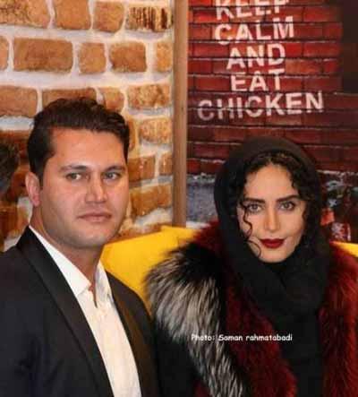 عکس های الناز شاکردوست در افتتاحیه رستوران برادرش