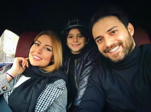 بابک جهانبخش در کنار همسر دومش (عکس)