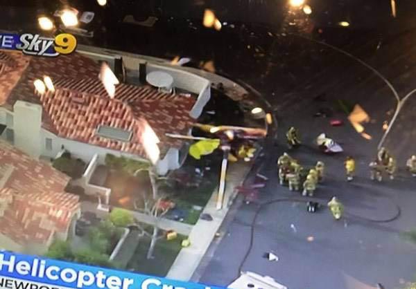 سقوط وحشتناک یک هلیکوپتر بر سر مردم (عکس)