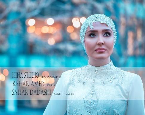 چهره جذاب این بازیگر زن ایرانی به عنوان عروس (عکس)