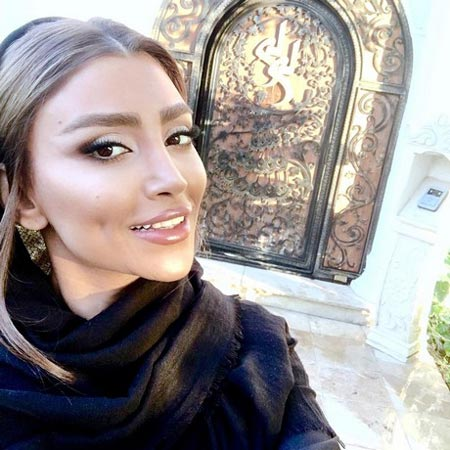 کشف حجاب و مهاجرت الهام عرب مانکن ایرانی (عکس)