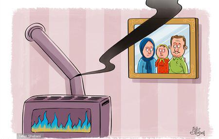 کاریکاتورهای طنز و دیدنی از اتفاقات روز ایران