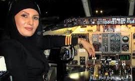 عکس هایی از جوان ترین خلبان زن ایران