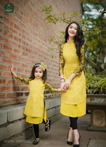 جدیدترین مدل های ست لباس مادر و دختر