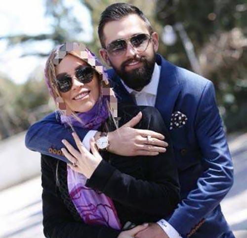 عکسهای ازدواج محسن افشانی وهمسرش