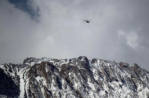 بقایای هواپیمای سقوط کرده تهران یاسوج پیدا شد