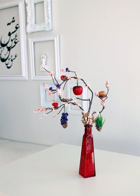 تصاویر مدلهای فانتزی تزئین سفره هفت سین