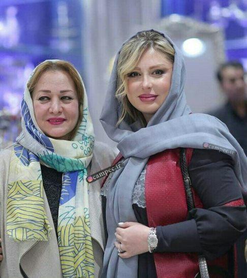عکس جدید نیوشا ضیغمی در کنار مادرش