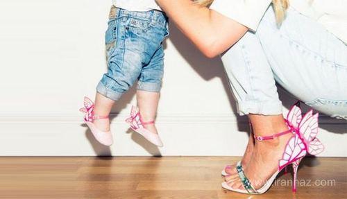 جدیدترین مدلهای ست کفش مادر و دختر 97